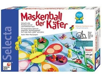Maskenball der Käfer Kinderspiel des Jahres 2002
